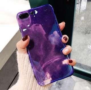 (Soft) Galaxy Stars Aurora iPhone Case