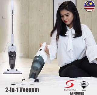 Dexma One Cyclone Vacuum Cleaner - 2 in 1 Handheld and Stick
