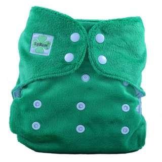 [3 for $10] SgBum Minky Cloth Diaper
