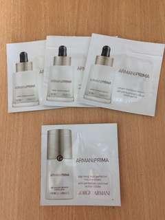 [包郵] $20/4包 Giorgio Armani Smart Moisture Serum+Day Long Skin Perfector (Sample 試用裝)