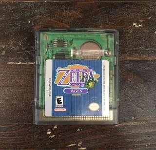 [GBC] The Legend of Zelda: Oracle of Ages - US VERSION (美版)