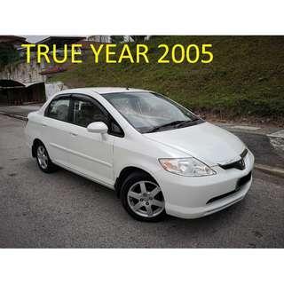 2005 Honda CITY 1.5V Auto BLIST CAN LOAN