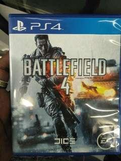 Battlefield ps4 game...
