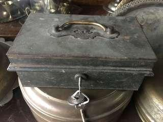 Antique small safebox