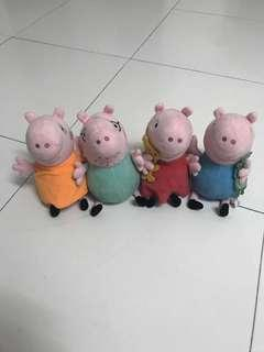 Soft Toys Peppa pig's family