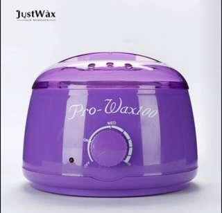 New wax heater with 300gm beans with 10 spatula