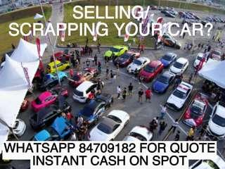 BUYING IN USED/SCRAP Cars