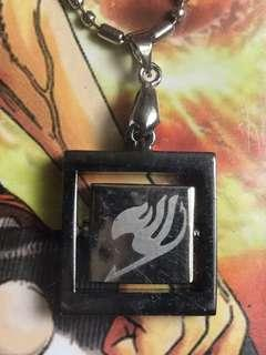 Fairy tails logo necklace