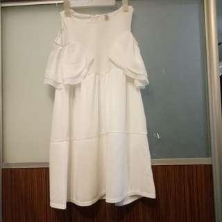 Korea White Dress