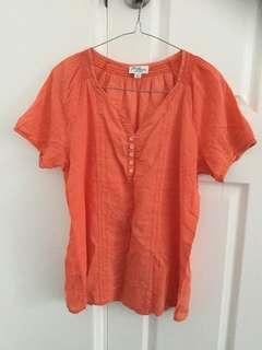 Coral Day Top