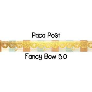 Paca Post Fancy Bow 3.0 Washi Tape Samples