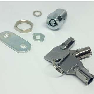 Stainless Steel Cam lock 23mm (with 2 keys)