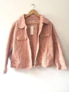 BRAND NEW! Blush Pink Jacket