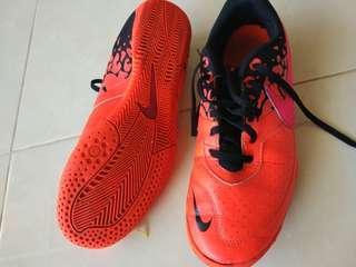 Sepatu Futsal Nike Elastico Orange