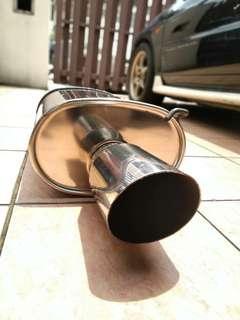 Exhaust muffler rsr