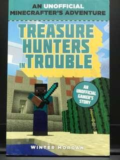 Minecraft Treasure Hunters in Trouble