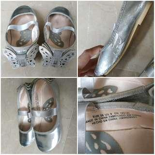 Wings shoes silver