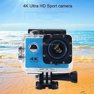 HAMTOD H9A HD 4K WiFi Sport Camera with Waterproof Case, Generalplus 4247, 2.0 inch LCD Screen, 120 Degree Wide Angle Lens