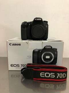 Canon 70D and lenses