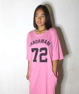 Pink Lazy dress