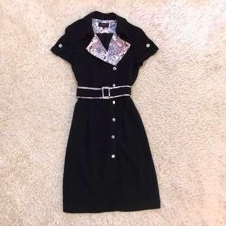 Viola Coat Dress with Belt