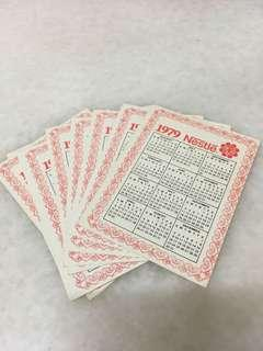Since 1979 Nestle daily card