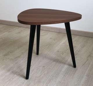DANSK coffee table in walnut finish