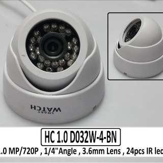 Smart Watch Dome Type Camera 1 Mega Pixel