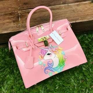 Original! Beachkin 30cm Glossy - Pink Unicorn