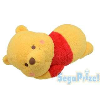 Disney Winnie The Pooh 小熊維尼 趴款毛公仔
