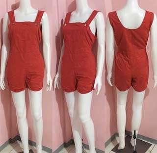 BRAND REMOVED ROMPER
