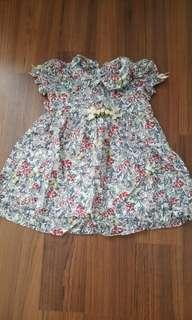 Baby Dress lovely lace size S