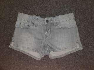 DKNY Grey Denim Shorts Size 24