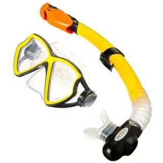 Kacamata Renang Diving merk Intex Silicon