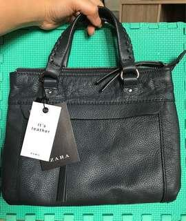 ZARA Crossbody Bag ORIGINAL LEATHER
