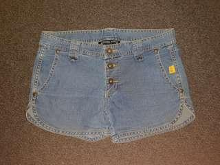 Bettina Liano Blue Denim Shorts Size 6