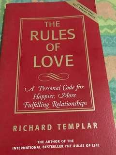 The Rules of Love by Richard Templar (book)
