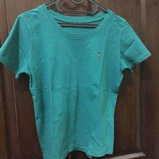 tshirt hijau tosca