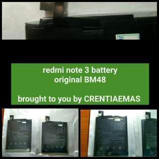 redmi note 3 battery original BM48