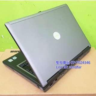 🚚 (RS232) DELL D630 T7250 2G 80G DVD 14吋筆電 聖發二手筆電