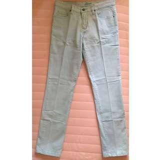 Celana Panjang Jeans Biru Muda