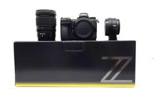 Nikon Z7 with Z 24-70 and FTZ Adapter Ready Stock