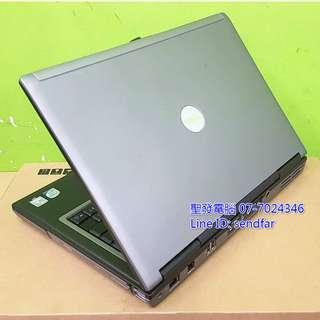 🚚 RS232 DELL D630 T7250 2G 80G DVD 14inch laptop ''sendfar second hand'' 聖發二手筆電