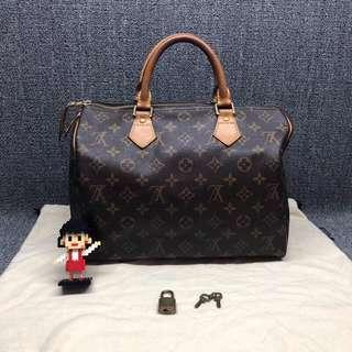 💯% Authentic LV Speedy 30