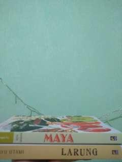 Novels by Ayu Utami ( Maya dan Larung)