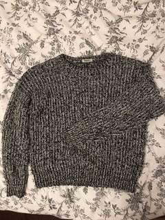 Aritzia Salt and Pepper Sweater