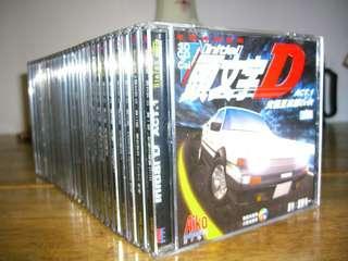 """日本經典動畫 """"頭文字D"""" (第一,二輯) VCD"""