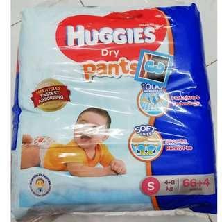 Huggies Dry Pants (66+4, S size)