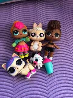 ⭐️ PRICE REDUCED⭐️ $5 FOR ALL LoL Dolls