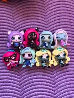 🌟PRICE REDUCED🌟 $12 FOR ALL Monster High minis